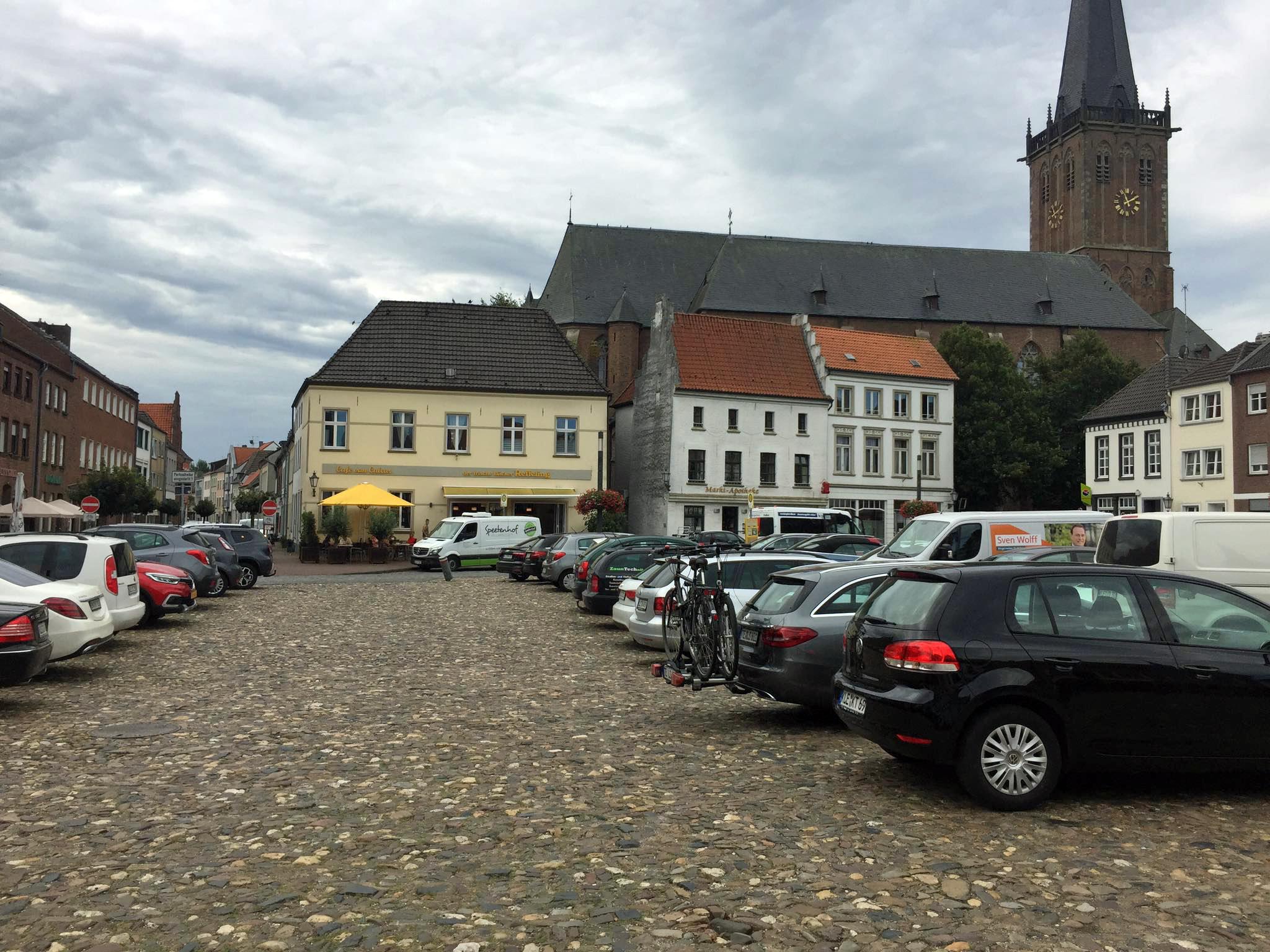 CDU-Kalkar wehrt sich gegen die Reduzierung der Parkplätze auf dem Markt